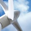 wind turbine closeup